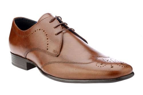 Red Tape Gala Tan Mens Leather Brogue Shoes